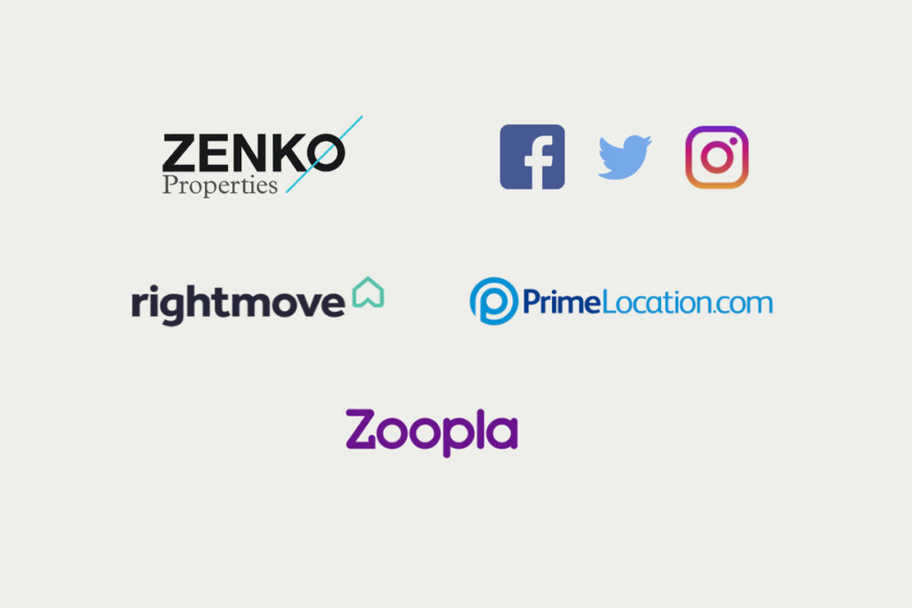 Zenko Properties marketing channels